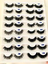 16pairs Mink Lashes Book 3D Eyelashes Siberian Fur Makeup Extension • US SELLER