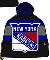 New York Rangers Wintermütze Mommoth Pudelmütze Zephyr NHL Eishockey