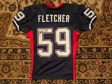 London Fletcher Buffalo Bills Game Worn, Signed, Photomatched Jersey