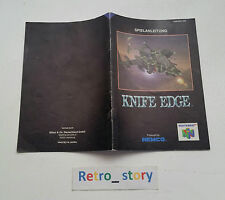 Nintendo 64 N64 Knife Edge Notice / Instruction Manual