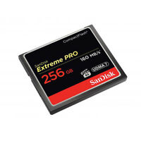 SanDisk Extreme PRO 256GB CF Card UDMA7 Speed Up To 160MB /s - Tracking included