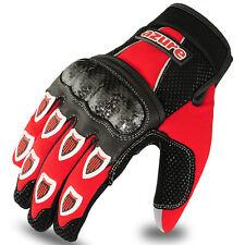 Motocross BMX Gloves Racing Motor Cycling, Offroad, Enduro, MTB, Red / Black, XL