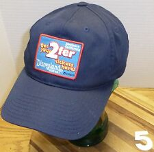 "DISNEYLAND ""GET YOUR 2FER TICKETS HERE"" HAT SOUTHERN CALIFORNIA ADJUSTABLE GUC"
