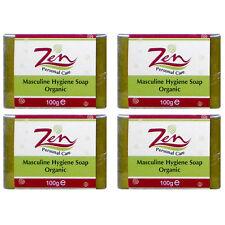 MASCULINE HYGIENE Soap Organic Pack 4 deodorise antibacterial anti inflammatory