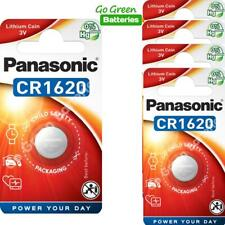 2 x Pansonic CR1620 3V Lithium Coin Cell Battery 1620 DL1620 KCR1620, 2028 EXP