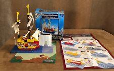 Disney Pirates of the Caribbean Build It Building Block Set Monorail Playset