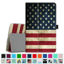 For Samsung Galaxy Tab A 8.0-Inch Tablet Case PU Leather Folio Stand Cover
