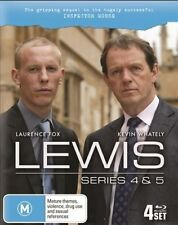LEWIS - SERIES 4 & 5 (4 BLU-RAY SET) BRAND NEW!!! SEALED!!!