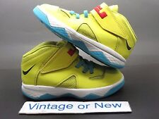 Nike LeBron Solider VII 7 Sonic Yellow Teal Black TD sz 10C