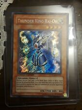 Thunder King Rai-Oh YG02-EN001 Secret Rare Limited Edition Near Mint