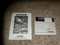 Zeppelin for the Commodore 64 C64 with manual