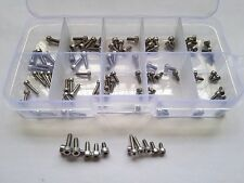 100PCS M2 M2.5 Torx Bolt T&TX Socket Cap Head Screw Bolts Screws Assortment Set