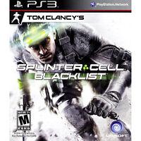 Tom Clancy's Splinter Cell: Blacklist PS3 [Brand New]