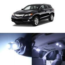 13 x White LED Interior Lights Package Kit For Acura RDX 2013 - 2018 + Pry TOOL