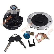 Ignition Switch Seat Gas Cap Lock Key For Suzuki GSXR 600/750/1000 01-02 DL1000