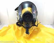 Mestel Safety SGE 400/3 40mm NATO Gas Mask w/NBC Hood & Drink Opt, Made in 2017