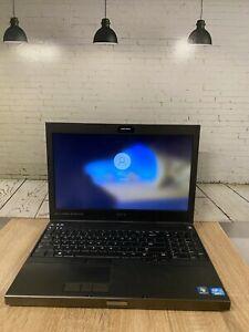 Dell Precision M4700 Quad Core i7 3740QM 2.7GHZ 32GB RAM 750GB HDD Windows 10Pro