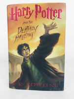 RARE GOOD CONDITION Harry Potter and the Deathly Hallows 1ST EDITION