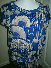 Women's LOVELY Unusual Blouse From RED HERRING A generous Size 12