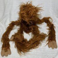 Vintage Superior Novelty Shaggy Animal Monster Puppet Orangutan Bigfoot Beast