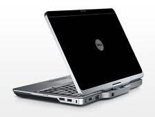 BLACK Vinyl Lid Skin Cover Decal fits Dell Latitude XT3 Laptop