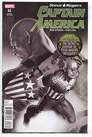 Steve Roger Captain America 2 Marvel 2016 NM+ 9.6 B&W Jesus Saiz SDCC Variant