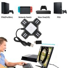 KX Adapter Mouse Keyboard Type-c Converter For Switch Xbox PS4 PS3 Game Gamepad
