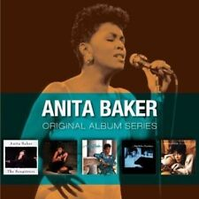 ANITA BAKER - 5CD ORIGINAL ALBUM SERIES (NEW & SEALED) Inc Rapture Songstress