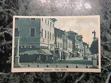CARTOLINA UDINE PALMANOVA BORGO AQUILERA VIAGGIATA 1947 NUMISMATICA SUBALPINA