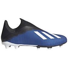 ADIDAS X 19.3 LL FG Mens Laceless Firm-Ground Soccer Cleats, Blue, PICK SIZE