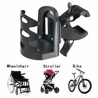 Universal Cup Water Bottle Holder For Baby Stroller Bike Wheelchair Walker