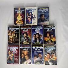 Quantum Leap 11 paperback books lot Loch Ness Foreknowledge Song And Dance