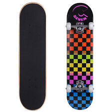 Cal 7 Rainbow Complete 8 Inch Skateboard Classic Popsicle Double Kicktail