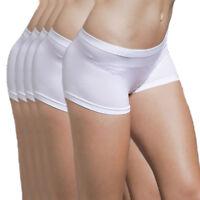 5-Pack Women's Seamless Spandex Boyshort Underskirt Pant Short Leggings