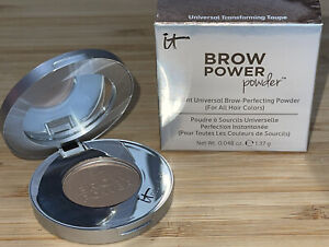 NEW - IT Cosmetics Brow Power Perfecting Powder Universal Transforming Taupe