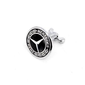 For Mercedes Benz A C E S AMG 45mm Front Hood Bonnet Emblem Badge Emblem