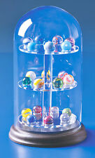 3 of Our Best Glass Domes Display Case For Porcelain Thimbles