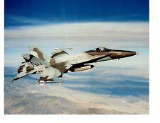 Boeing F18A Hornet VFA97 Navy Fighter Aircraft Photo 8x10 USS Carl Vinson CVN70