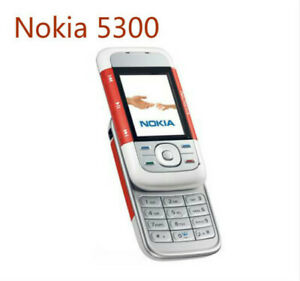 Original Nokia 5300 RED Unlocked 2G GSM 900/1800/1900 Mobile Cell Phone