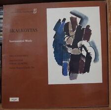 NIKOS SKALKOTTAS MELOS ENSEMBLE  INSTRUMENTAL MUSIC FRENCH LP ARGO 1974