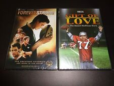 FOREVER STRONG & GIFT OF LOVE-DANIEL HUFFMAN STORY-2 movies for family values