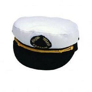 Captains Cap Kapitäns Mütze Captain keine Faschingsmütze!englische Qualität 57