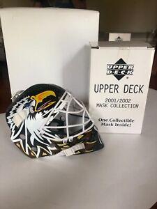 2001/02 Upper Deck Hockey HOF goalie mini mask Dallas Stars Ed Belfour