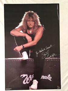 Whitesnake 1988 Poster David Coverdale Funky