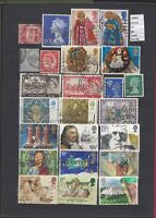 STAMPS LOT  GREAT BRITAIN   USED  (L30865)