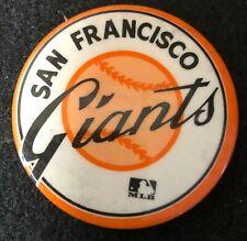 San Francisco Giants MLB Vintage Baseball Pin Button Pinback