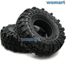 2 Stück 1.9 Super Swamper Tires 110mm Fit 1:10 Rock Crawler 1.9'' Beadlock Rims