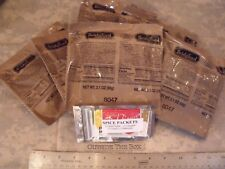 """LOT of (6) - Bridgford """"Ready to Eat"""" MRE Pepperoni Pizza with Cheese & Sauce"""