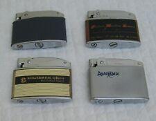 4  Vintage Lighters CROWN, NESOR-ROSEN VERONA AND LITTLE BILLBOARD