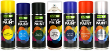 2x Autotek Aerosol Paint - Various Colours - 400ml - Blue Red Green Silver White